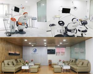 Cơ sở vật chất xây dựng theo mô hình đạt chuẩn quốc tế 5* Hàn Quốc
