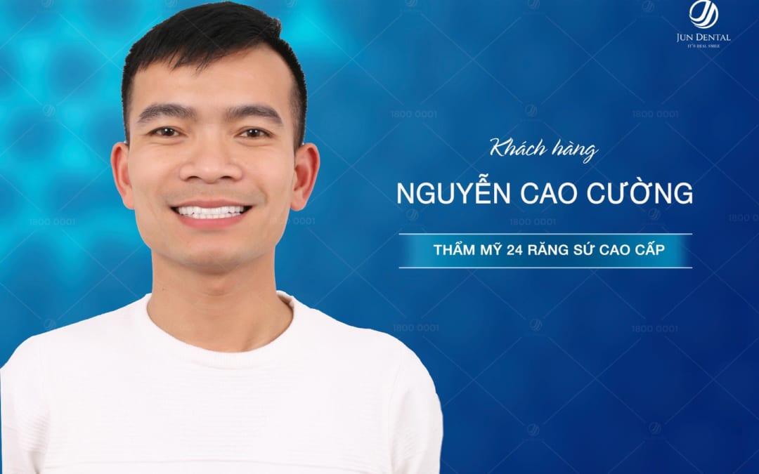 Khách hàng của Jun Dental chia sẻ về kỹ thuật phục hồi răng sứ bị hỏng