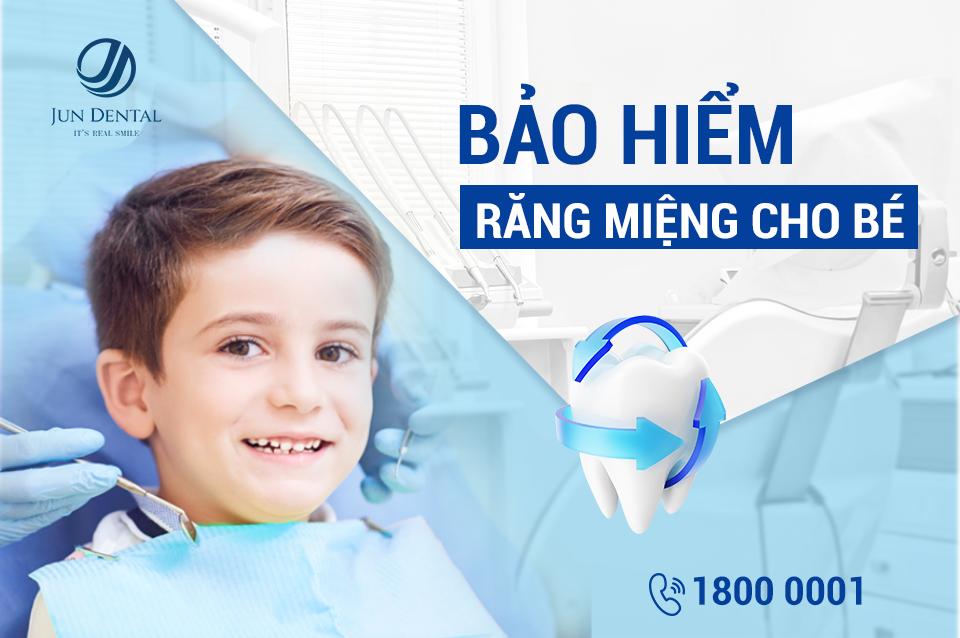 Ưu đãi tháng 6 tại Jun Dental: Bảo hiểm răng miệng cho bé
